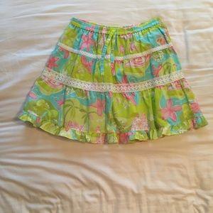 Lilly Pulitzer skirt, girls size 14